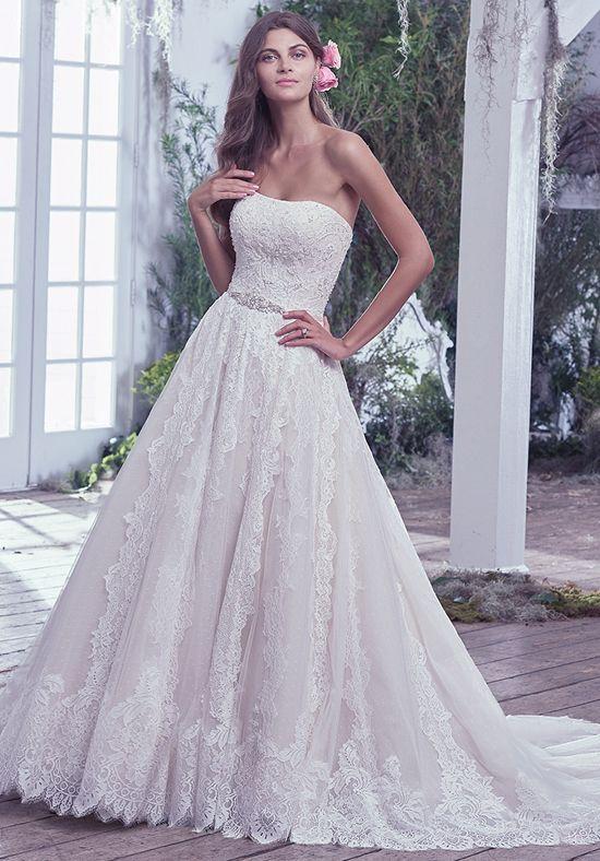 740e500af8e Maggie sottero wedding dress nashville bride in cowboy boots