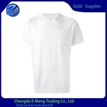 Bulk man pocket plain cotton blank t-shirts with short   best seller follow this link http://shopingayo.space