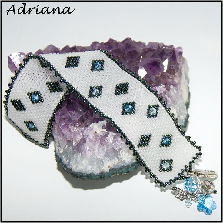 Bižutéria Adriana - moja korálková tvorba   .....náramky