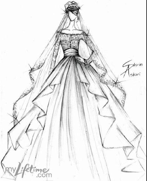Shirin Askari: Runway Design, Wedding Dressses, Fashion Drawing, Fashion Sketches, Fashionillustration, Projects Runway, Kate Middleton, Fashion Illustration, Designer Wedding Dresses