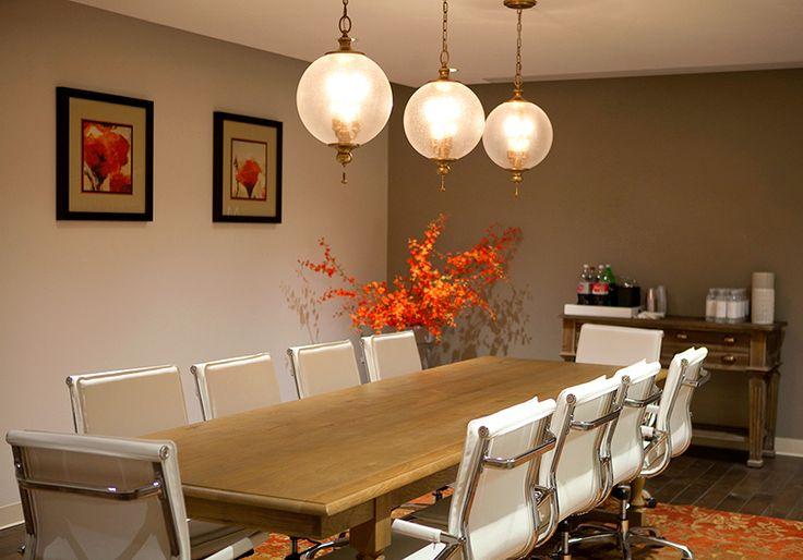 Ball lighting trend, designer dining room with a modern twist