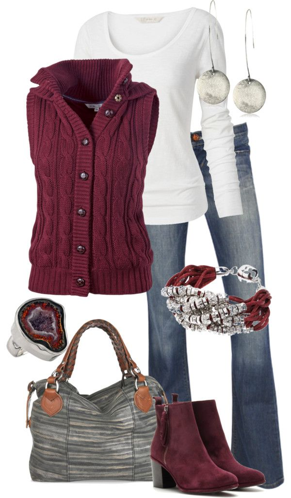 """Untitled #214"" by alison-louis-ellis on Polyvore: Yeah for Fall!!!!"