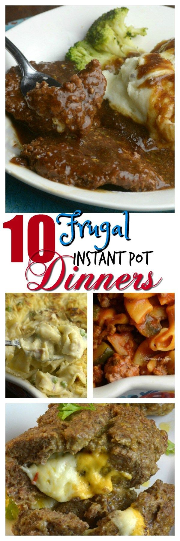 Share with friends     1  1Share10 Frugal Instant Pot Dinners One of the great things about having my Instant Pot is saving money on food. You can feed a family of 4 for $5-10.00. How amazing is that? Here is a list of my favorite Frugal Meals. Hamberger Helper That is right Homemade Hamberger Helper a full meal for …