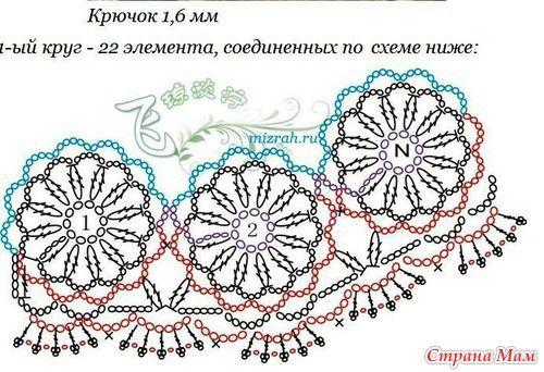 Говорят эти цветочки можно связать безотрывно...http://www.stranamam.ru/  я не понимаю КАК??? Подскажите девочки, мне, бестолковой... ПОЖАЛУЙСТА