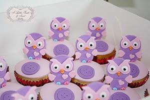 Hootabelle cupcakes