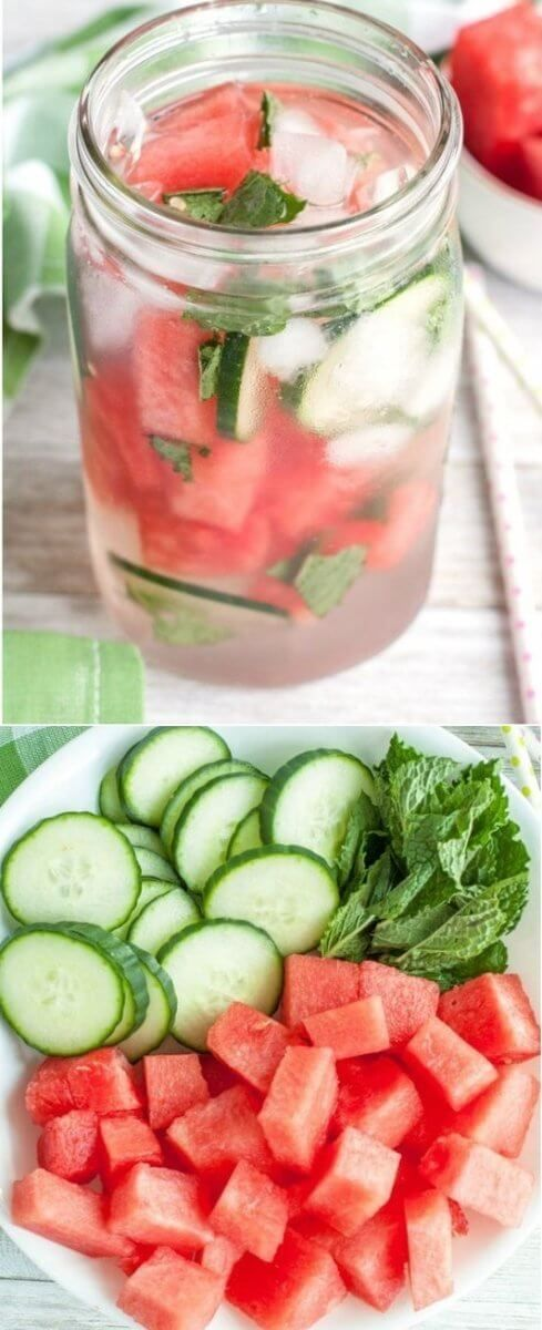 Watermelon Detox Water | Tasty Food Collection