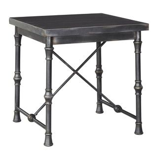 Shop for Signature Design by Ashley Ballor Pewter Square End Table. Get free shipping at Overstock.com - Your Online Furniture Outlet Store! Get 5% in rewards with Club O!
