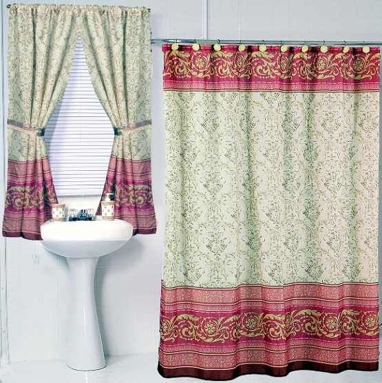 bathroom curtains and shower curtain sets