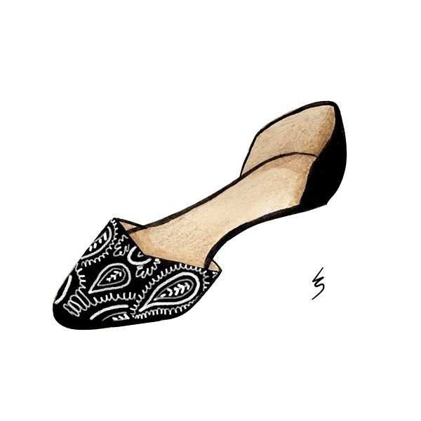 Forgot to post these gorgeous #flats yesterday! ♀ Love the detail on