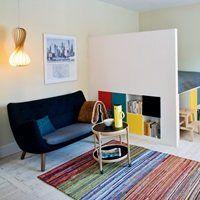 En elegant løsning på soveværelse i stuen, uden at gå i sofaseng eller murphy bed retningen