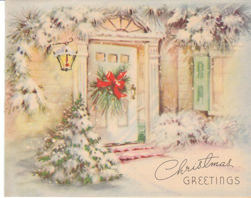 Madeline S Memories Vintage Christmas Cards: 1000+ Images About Old Fashioned CHRISTmas Cards On Pinterest