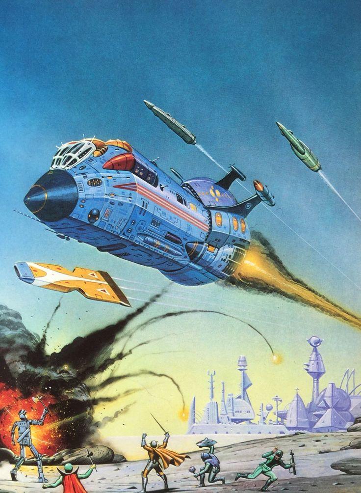 Angus McKie. From Great Space Battles (Stewart Crowley & Charles Herridge, 1979).