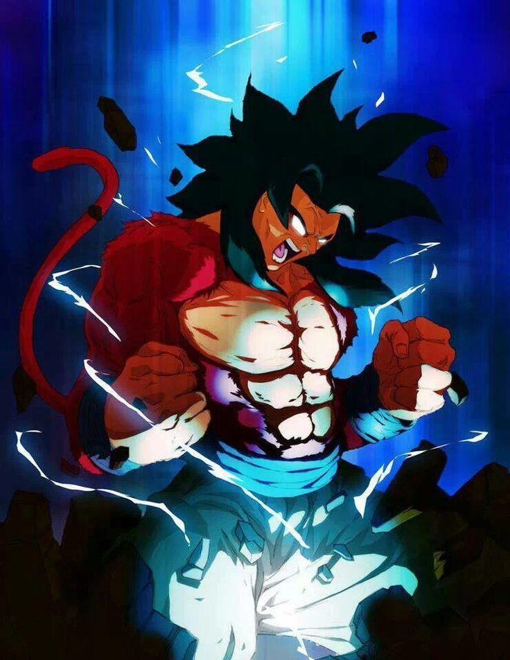 Goku- Super Saiyan 4