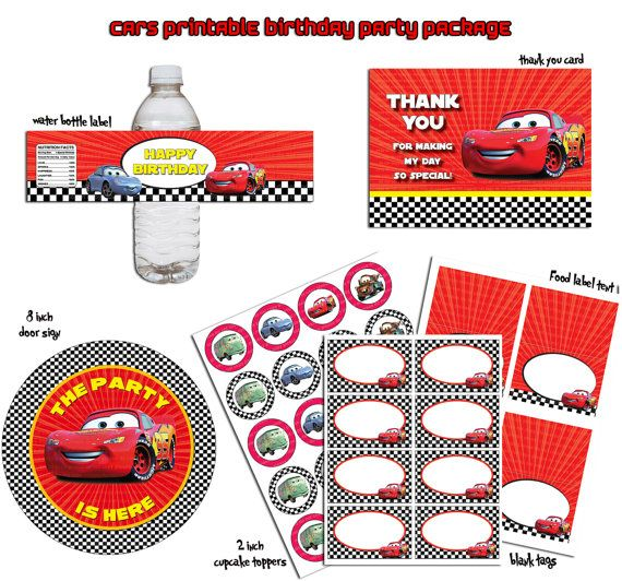 55 best images about cars birthday party on pinterest | cars, free, Birthday invitations