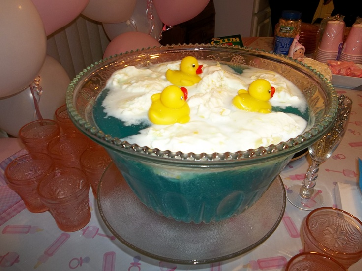 Duck punch for baby shower...