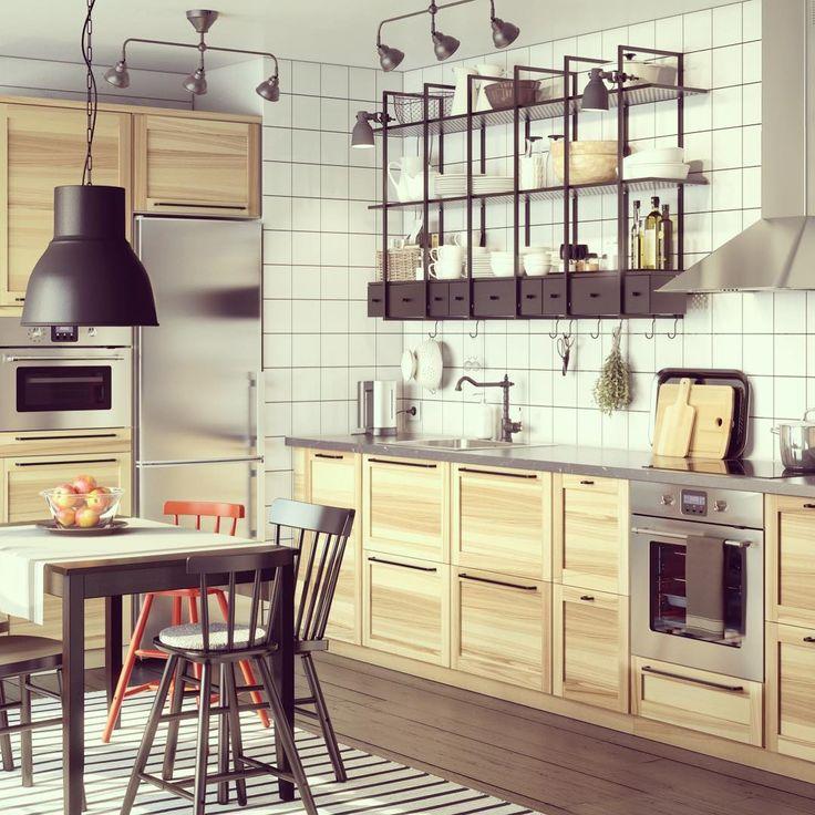 les 18 meilleures images du tableau cuisine ikea torhamn. Black Bedroom Furniture Sets. Home Design Ideas