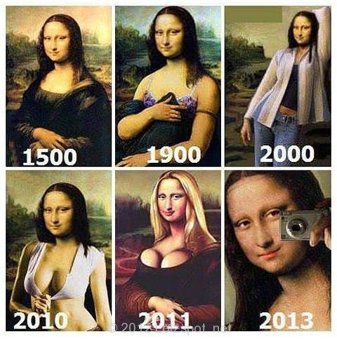 If Monalisa was alive today