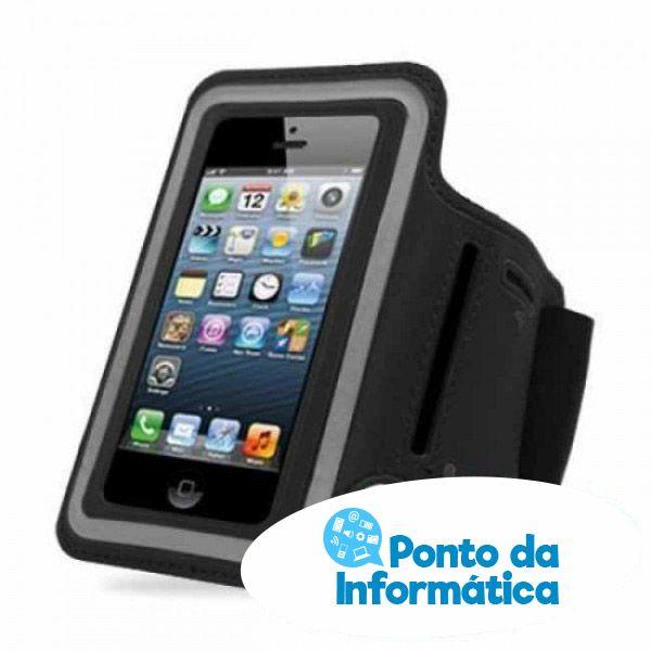 Braçadeira para iPhone e Smartphone Até 5.6″