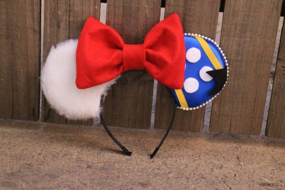 Donald Duck-Inspired Cruise Mouse Ear by ModernMouseBoutique