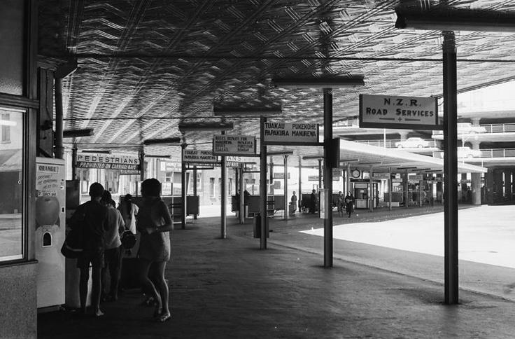 Bill ✔️ Old Auckland bus station. Bill Gibson-Patmore. (curation & caption: @BillGP). Bill✔️
