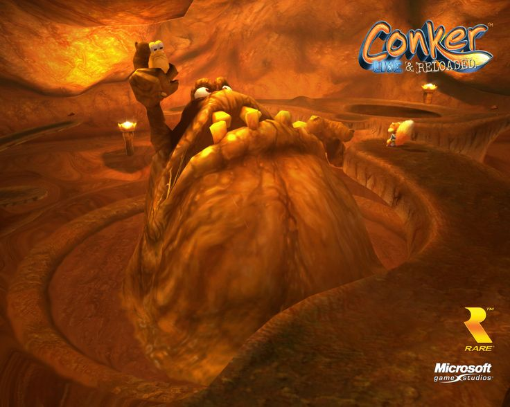 Conker: Live & Reloaded (Xbox/Xbox 360) - Has an operatic singing pile of s**t boss that you must defeat through the power of toilet paper, among other sophisticated humor elements. It draws from a wide range of movie parodies and pop culture. It is quite the intellectual journey.
