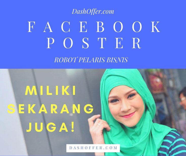 Yuk! Gunakan Facebook AutoPoster! Siap krm promosi km ke ratusan group FB scr otomatis,Sangat cocok utk segala bisnis Klik ➡️ http://bit.ly/botpelarisbisnis 🙌😎 #onlineshop #jualan #olshop #promo #fashion #murah #jual #jualanku #instagram #Facebook #IKLAN