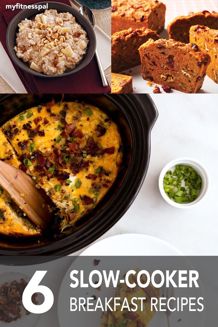 Easy slow cooker breakfast recipes