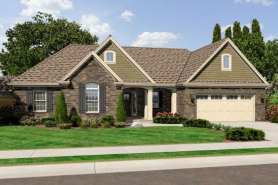House Plan 46-469 LOVE THIS. I don't really want a big huge house so this house with a finished basement would be fabulous
