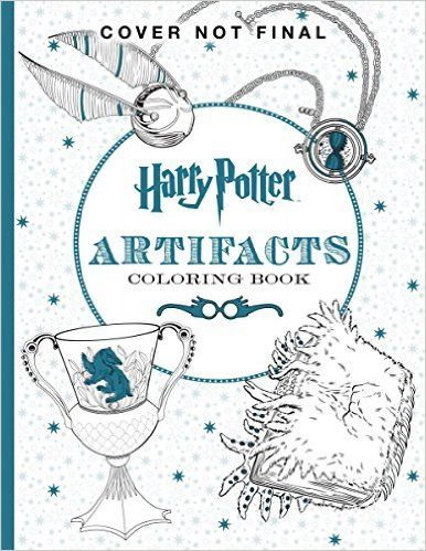 Harry Potter Artifacts Coloring Book By Scholastic
