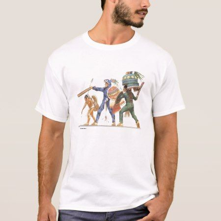 Aztec Warriors T-Shirt - click to get yours right now!