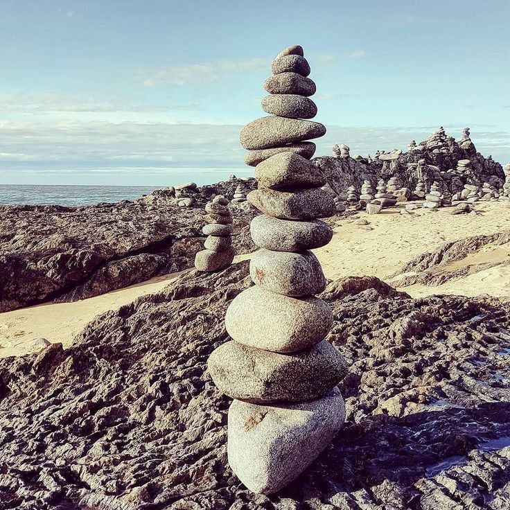 "Have you stumbled across these rock stars on the #GreatBarrierReefDrive to #portdouglasdaintree? This one is impressive how many ""cairn"" you do?   by @travel.kat"