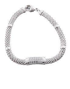 Bracelets: Silver Popple Cubic Bracelet !