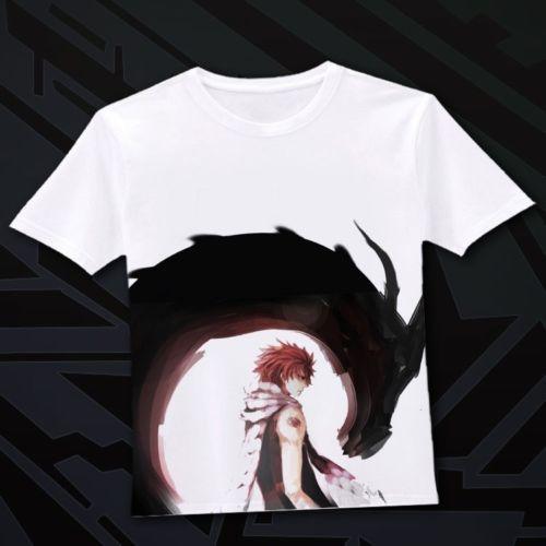 Japanese Anime Fairy Tail Clothing Costume T Shirt D 03 | eBay