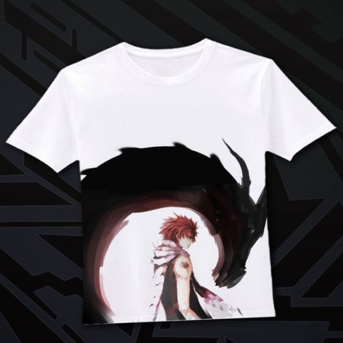 Japanese Anime Fairy Tail Clothing Costume T Shirt D 03 | eBay