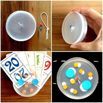 schaeresteipapier: Kartenhalter selbstgemacht - für kleine Kartenspielfans