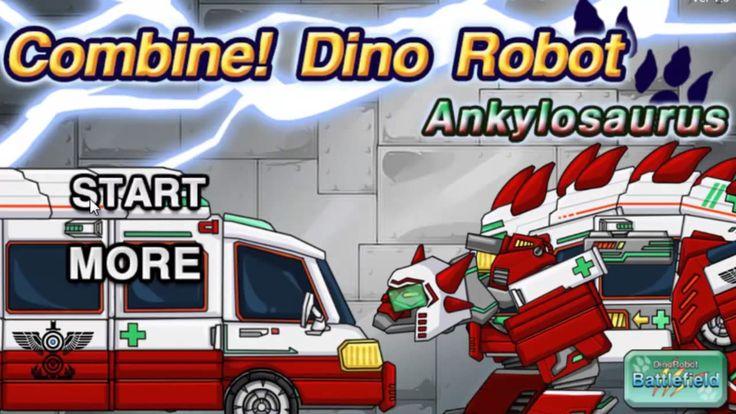 Robot-Dinosaur - Police_Dinosaur-First Aid for Children