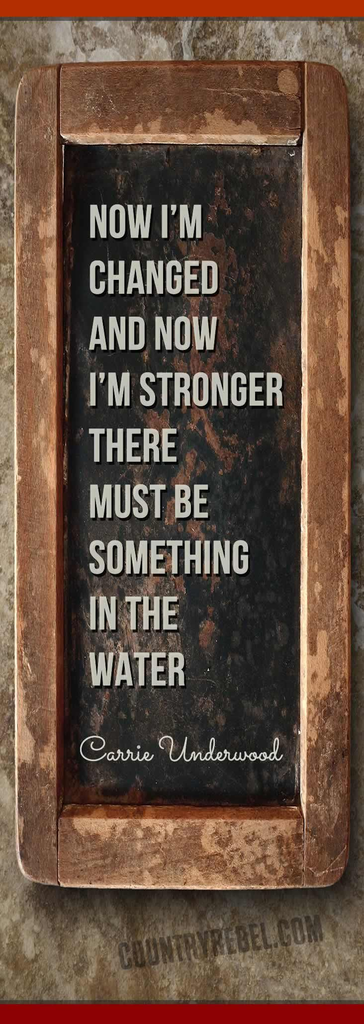 Country Music Lyrics - Carrie Underwood Quotes - Something In the Water | Country Music VIDEO at Country Rebel >> http://countryrebel.com/blogs/videos/18194131-carrie-underwood-something-in-the-water