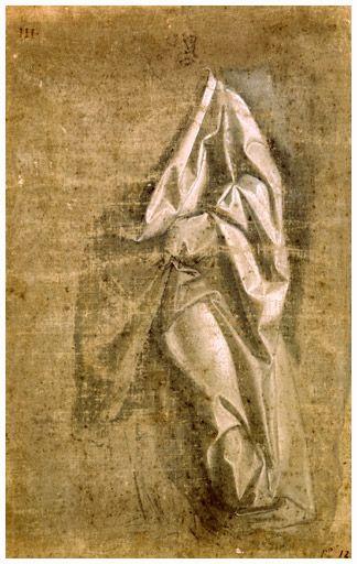 Leonardo da Vinci - Draperie