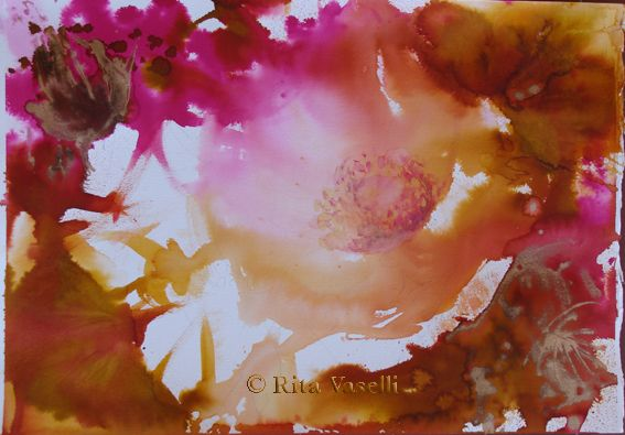 Rita Vaselli watercolors: IMPROVVISAZIONI ESTIVE