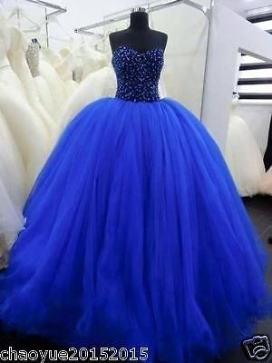 Elegant Evening Party Ball Prom Gown Formal Bridesmaid Cocktail Long Dress6-16++
