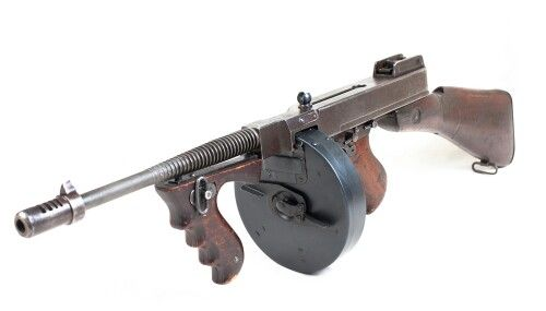 Tommy Gun - Thompson Submachine Gun