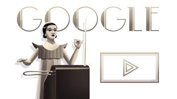 Apprenez à jouer du thérémine avec Clara Rockmore #GoogleDoodle