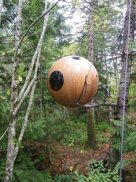 Baumhäuser: Der Traum vom Leben in der Luft