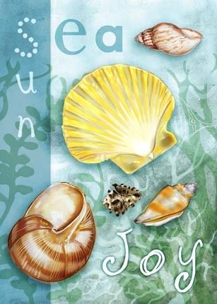 Shells -sea -sun- joy