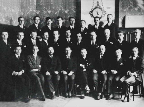 The First Congress of the Organization of Ukrainian Nationalists (OUN) in 1929.