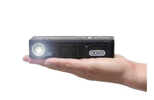 AAXA P4 P4X Pico Projector, 125 Lumens, Pocket Size, Li-Ion Battery, HDMI, Media Player, 15,000 Hour LED, DLP Projector AAXA Technologies http://www.amazon.com/dp/B007CWDFP6/ref=cm_sw_r_pi_dp_RLJ9tb0J0CFRN