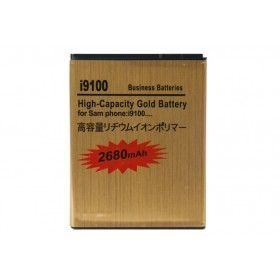 Batería Gold Extendida Samsung Galaxy S2 2680mAh Made in Japan http://www.tucargadorsolar.com/Baterias-para-moviles/Bateria-Gold-2430mah-Samsung-Galaxy-S-II-i9100.html