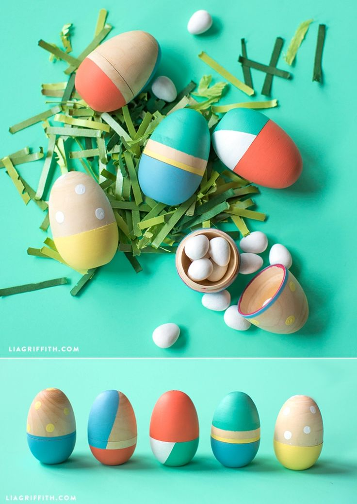 DIY Painted #EasterEggs at www.LiaGriffith.com: