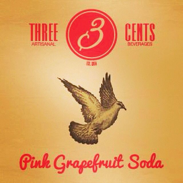 Three cents grapefruit soda Premium Beverages #threecents #premiumbeverages #bubbles #bestproduct