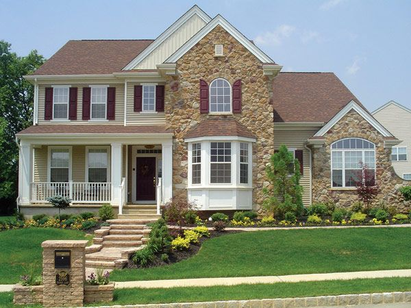 Stonecraft building material products pinterest faux for Vinyl siding that looks like stone
